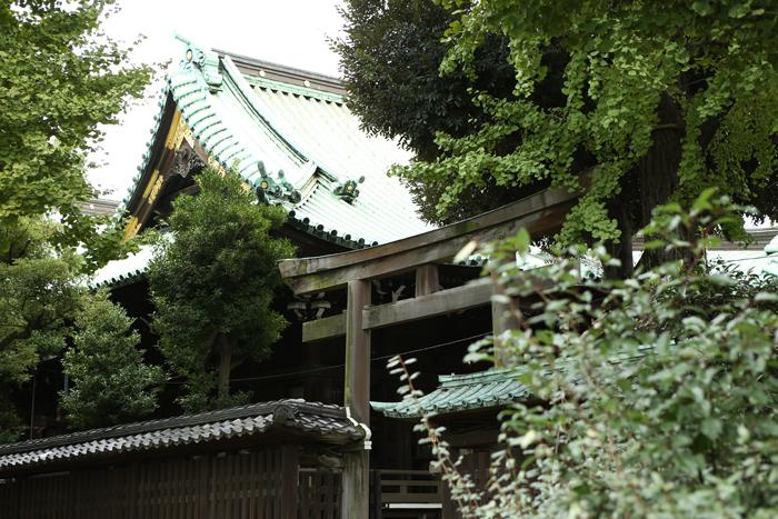 牛嶋神社の本殿