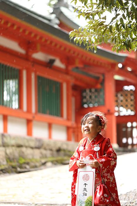 大宮氷川神社 七五三写真