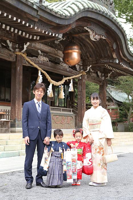 筑波山神社へ七五三の出張撮影ならお任せください