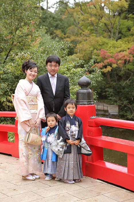 大宮氷川神社で七五三1