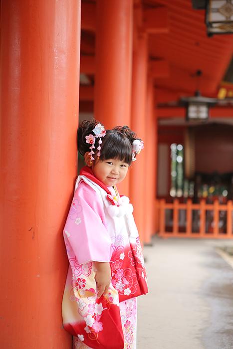 大宮氷川神社で3歳の七五三7