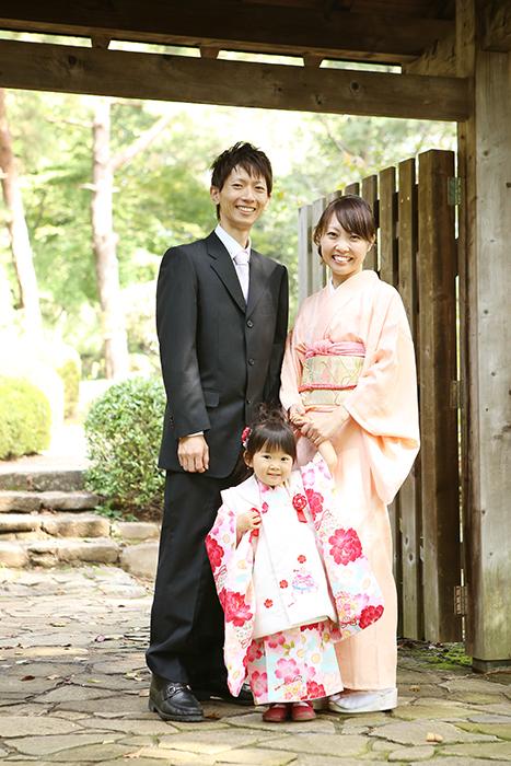 大宮氷川神社で3歳の七五三4