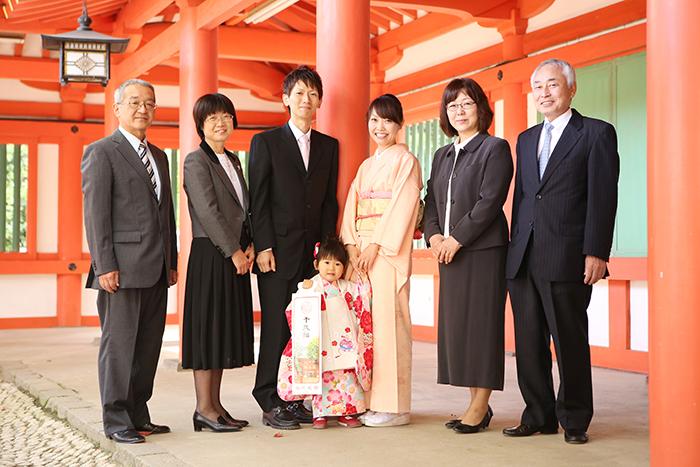 大宮氷川神社で3歳の七五三6