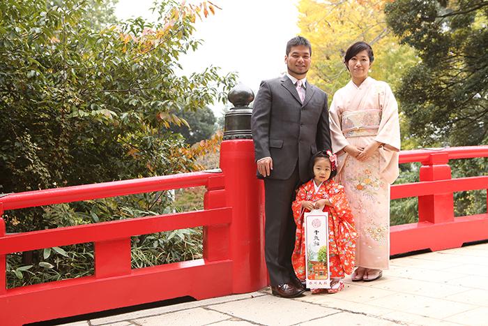 大宮氷川神社で3歳の七五三11