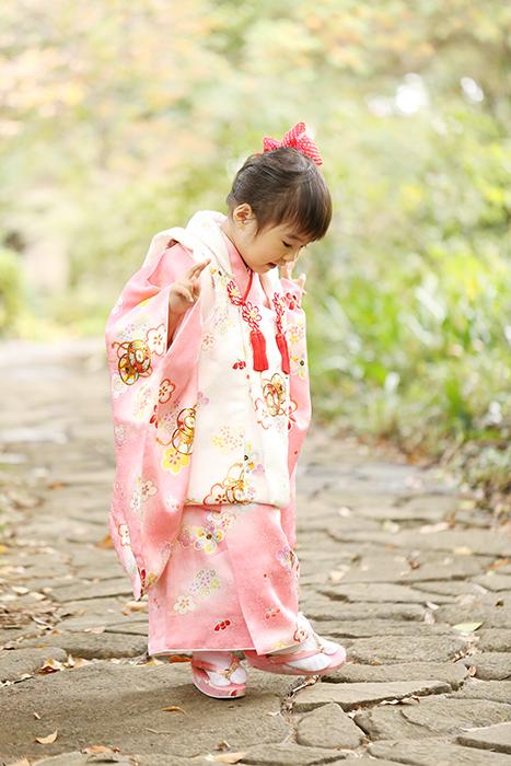 大宮氷川神社で3歳の七五三3