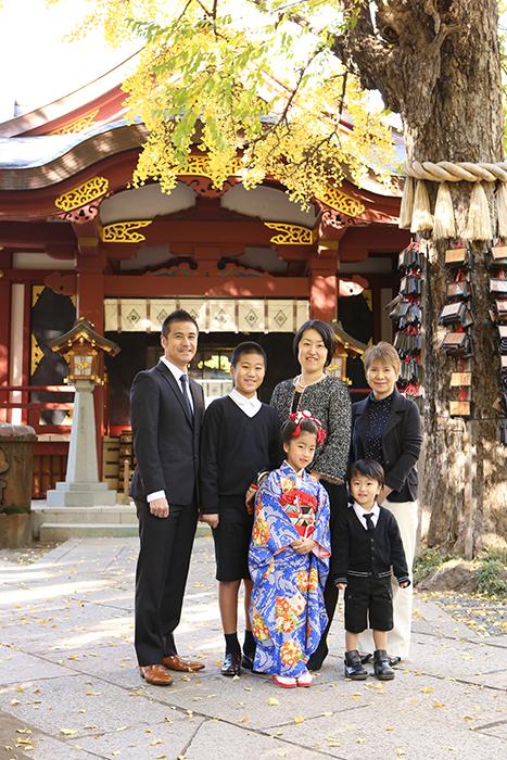 スサノオ神社で七五三出張撮影1