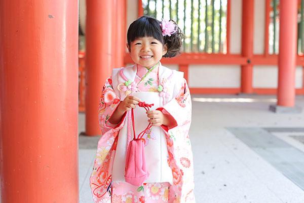 大宮氷川神社で撮影した3歳七五三のサムネイル