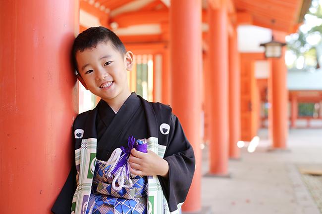 大宮氷川神社の七五三出張撮影