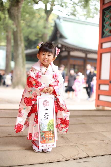 大宮氷川神社で七五三撮影2