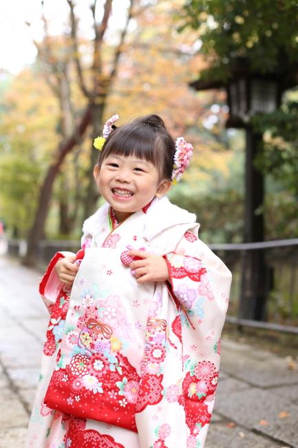3歳の七五三を大宮氷川神社で