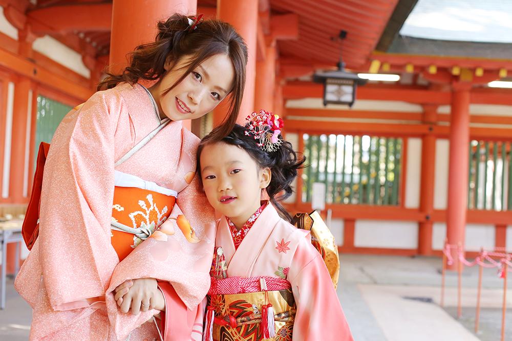 大宮氷川神社でゆうなちゃん7歳の七五三撮影