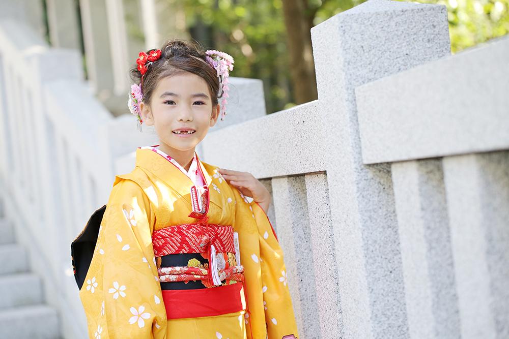 赤坂日枝神社に七五三の出張撮影!お参りするとリカちゃん人形がもらえる