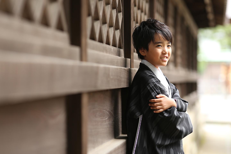 箭弓稲荷神社でハーフ成人式