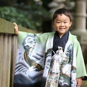 久伊豆神社(岩槻) にて5歳七五三の出張撮影