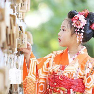 7歳こそ残して欲しい!こんなに美しいカットが撮れる / 七五三の出張撮影@大宮氷川神社