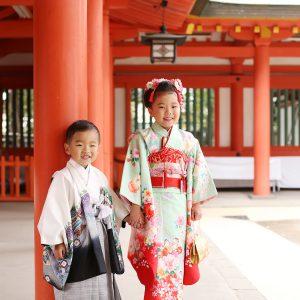 大宮氷川神社でのダブル七五三!11月15日を過ぎると…