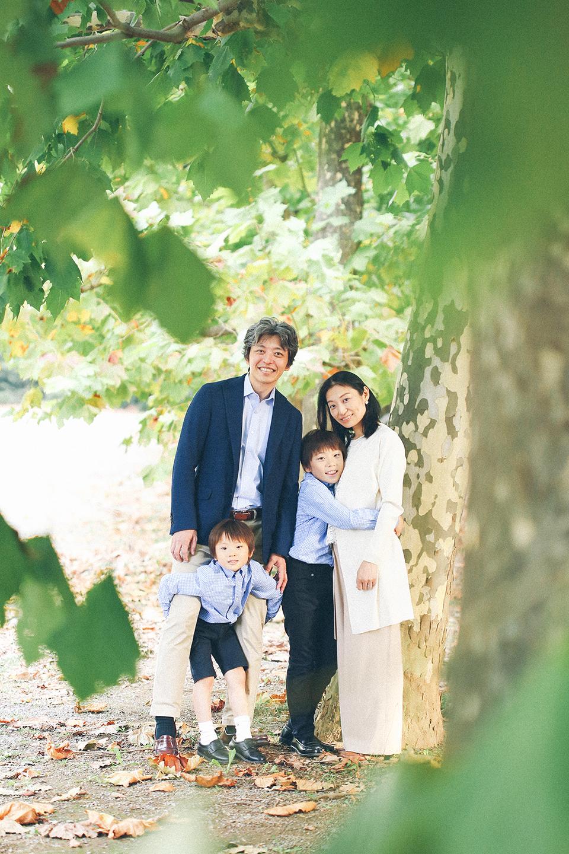 出張撮影キッズフォトの家族写真