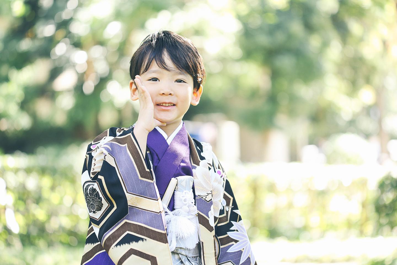 5歳の七五三 出張撮影