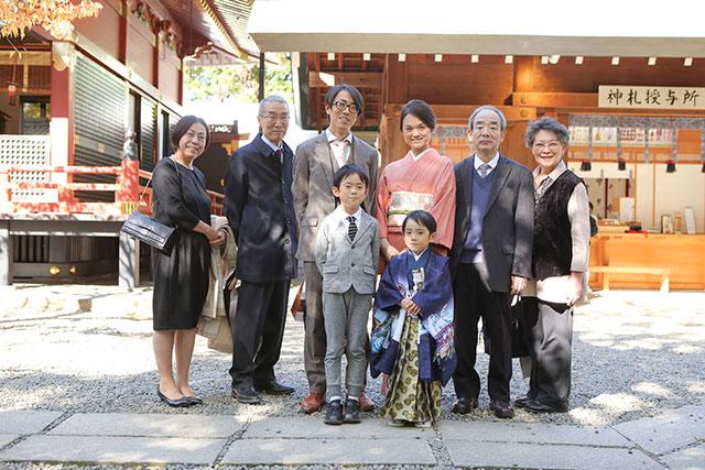 根津神社で5歳七五三の出張撮影!