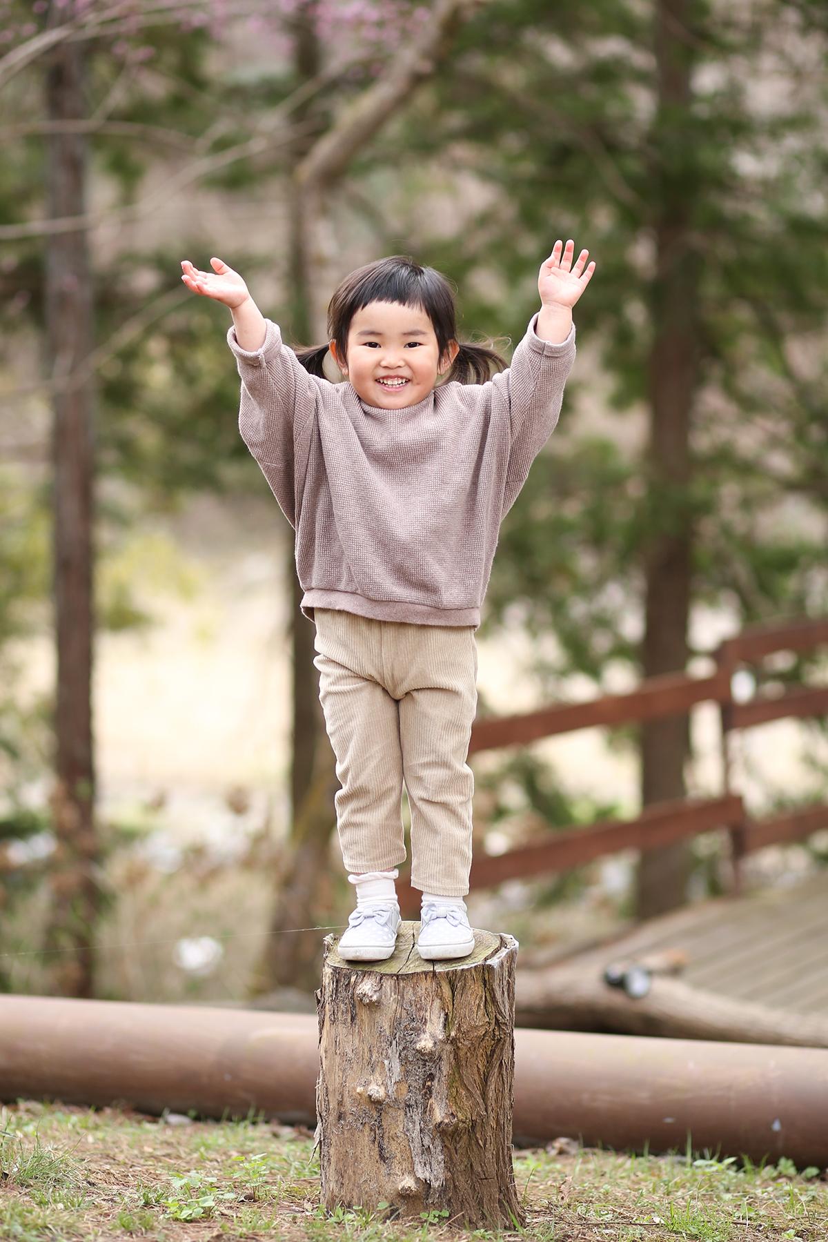 3歳女の子 ロケーションフォト