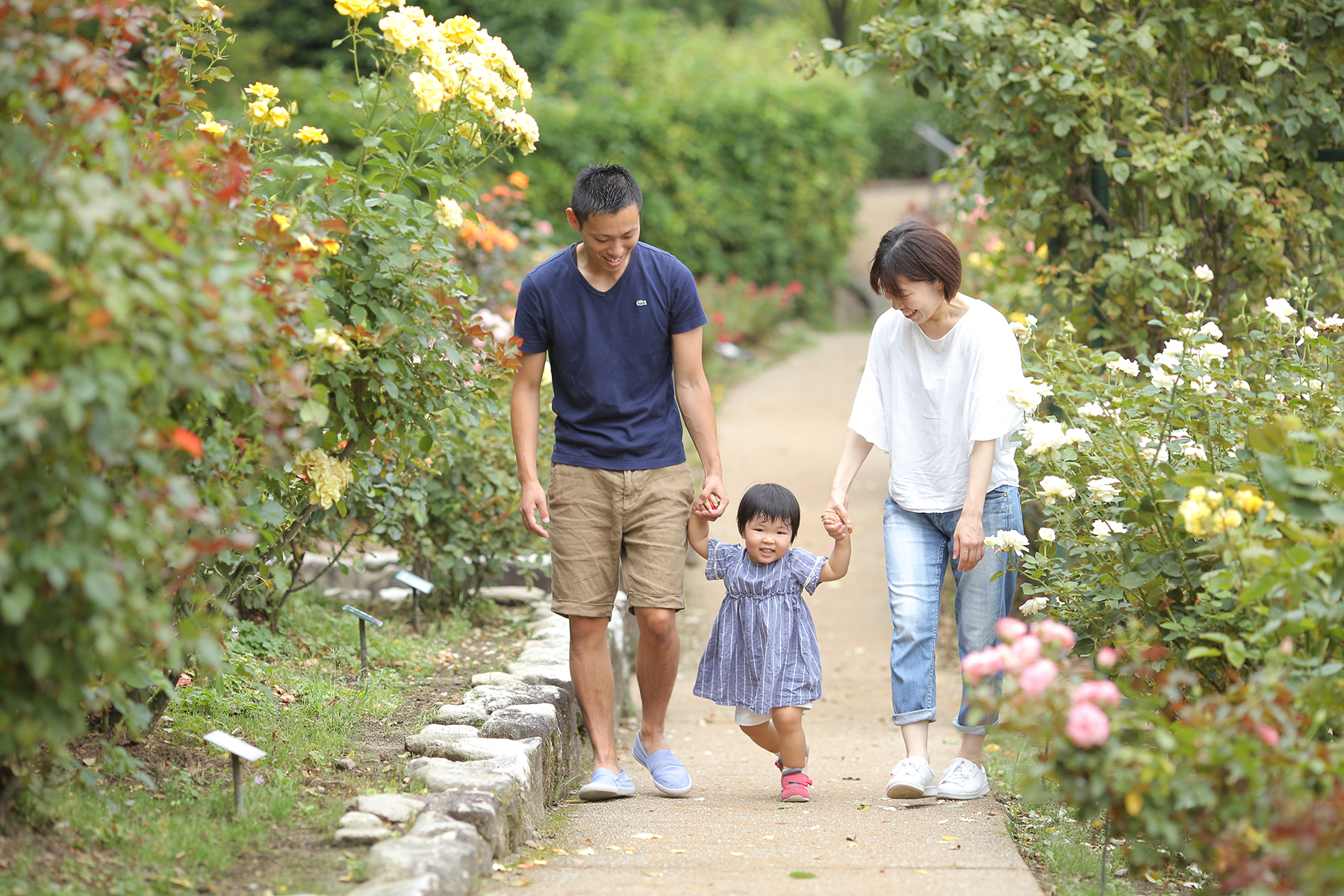 福岡で家族写真撮影