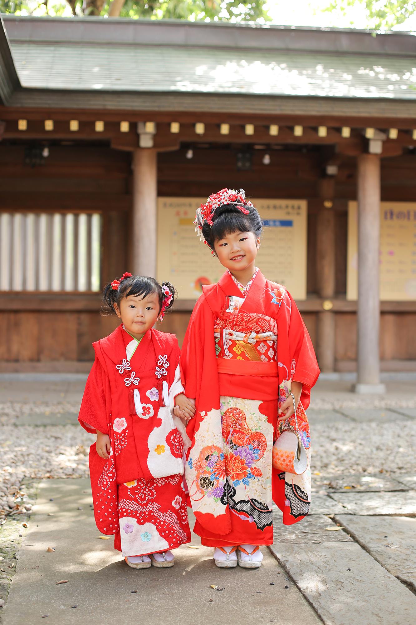 鳩ケ谷氷川神社で七五三