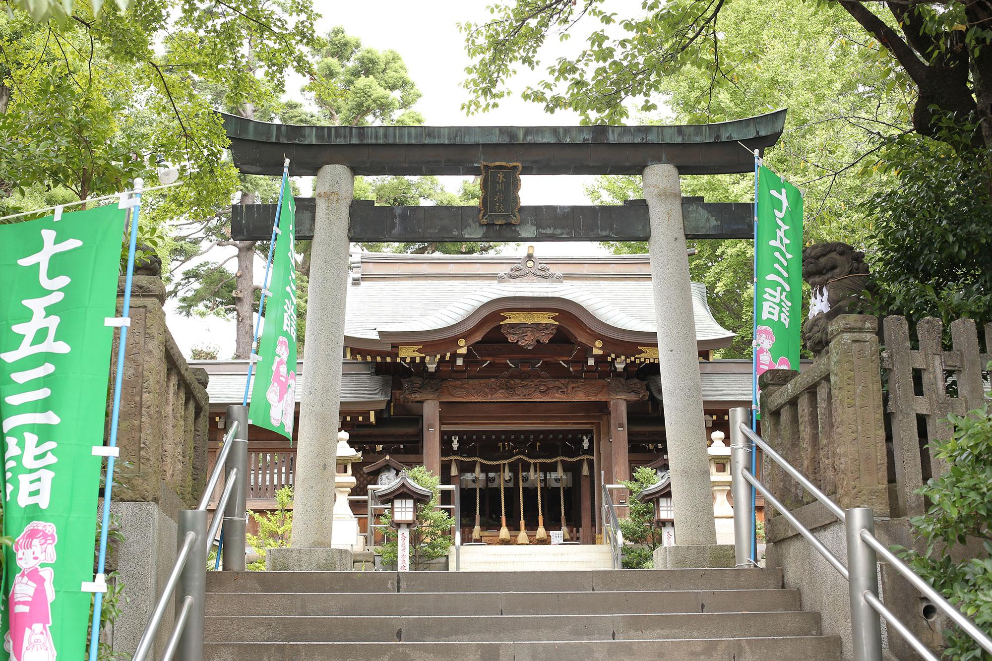 鳩ヶ谷神社へのアクセス