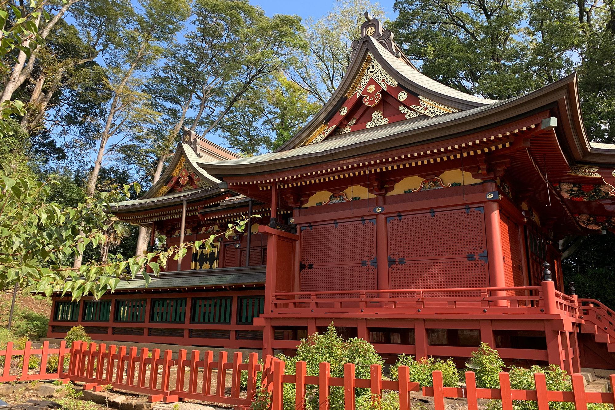 川越市 三芳野神社