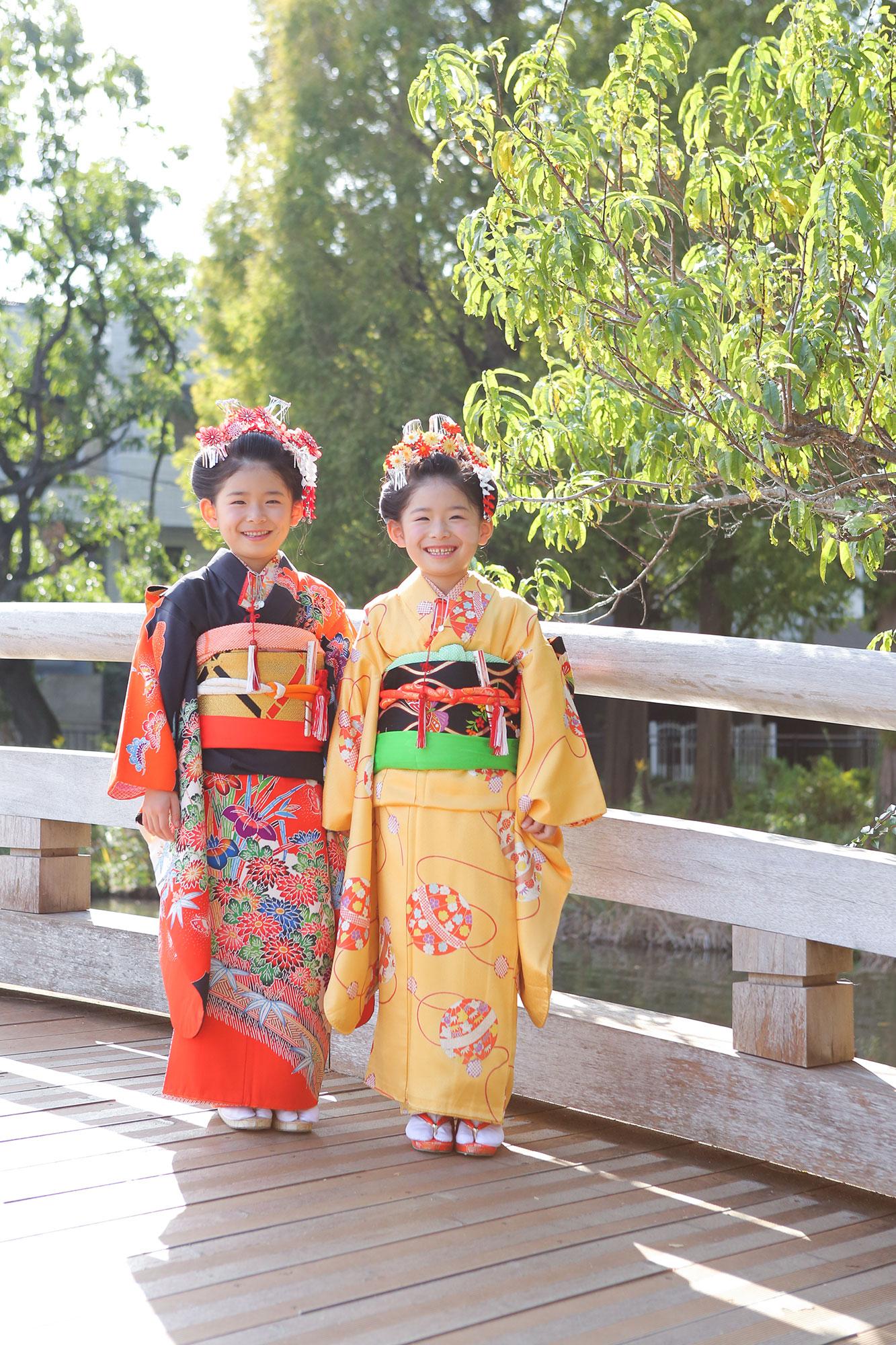 大田区の千束八幡神社へ七五三の出張撮影