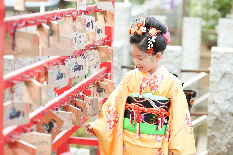 千束八幡神社の絵馬