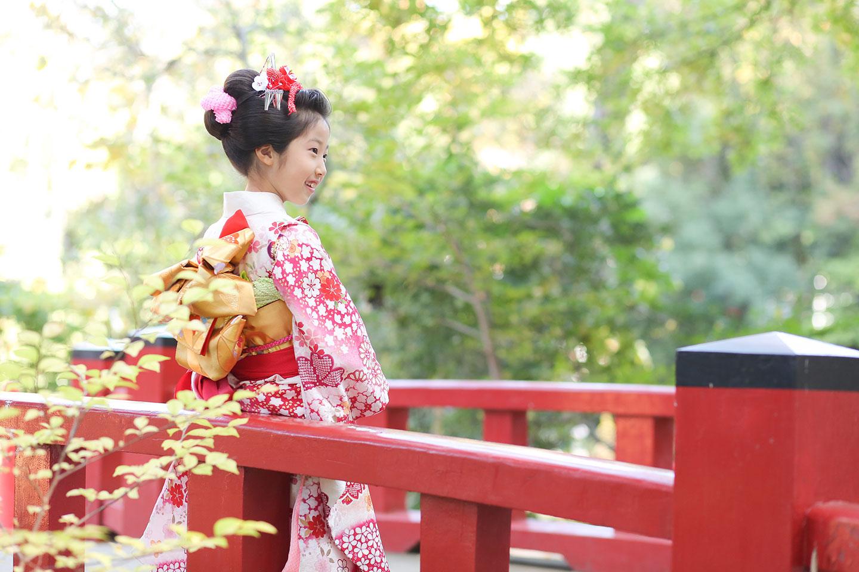 大宮氷川神社で七五三撮影したカット