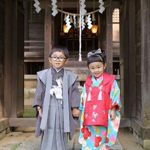 千葉の大宮神社へ七五三の出張撮影