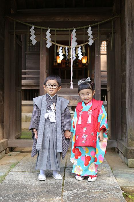 千葉県大宮神社へ七五三の出張撮影