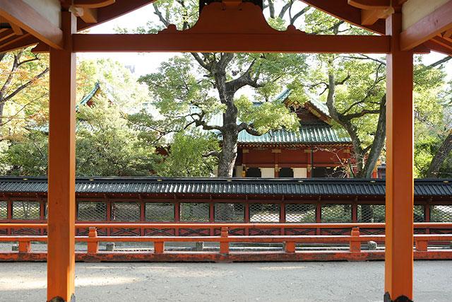 根津神社の境内案内