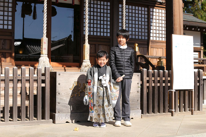 女化神社に七五三の出張撮影4