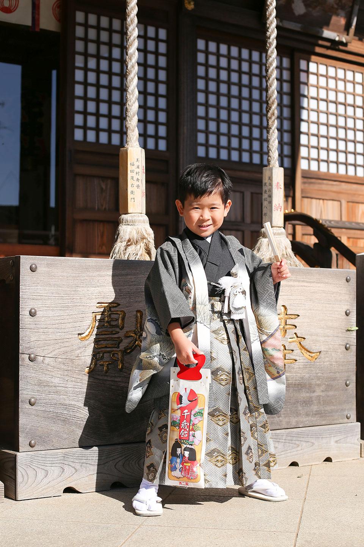 女化神社に七五三の出張撮影6