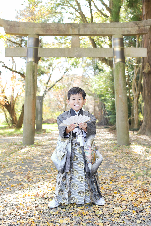 女化神社に七五三の出張撮影7