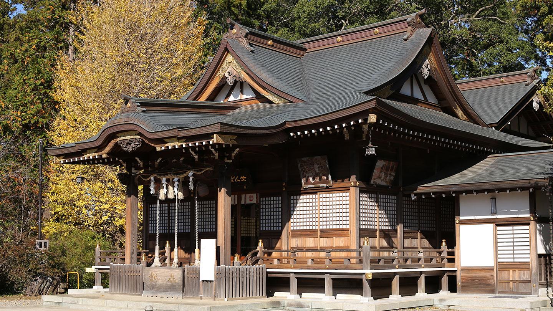 女化神社(女化稲荷神社)の社殿