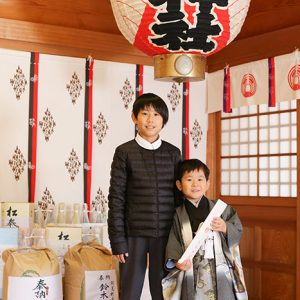 茨城県の女化神社(女化稲荷神社)に七五三の出張撮影