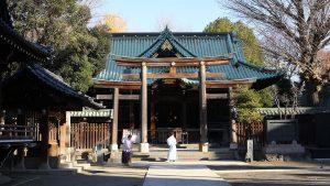 牛嶋神社の三輪鳥居
