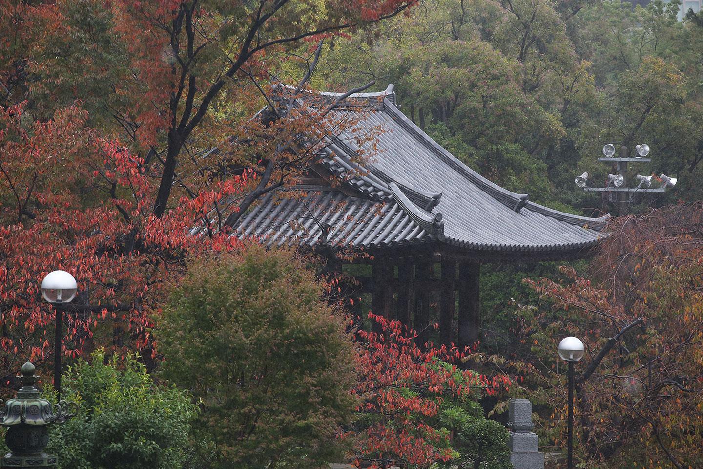 増上寺の境内