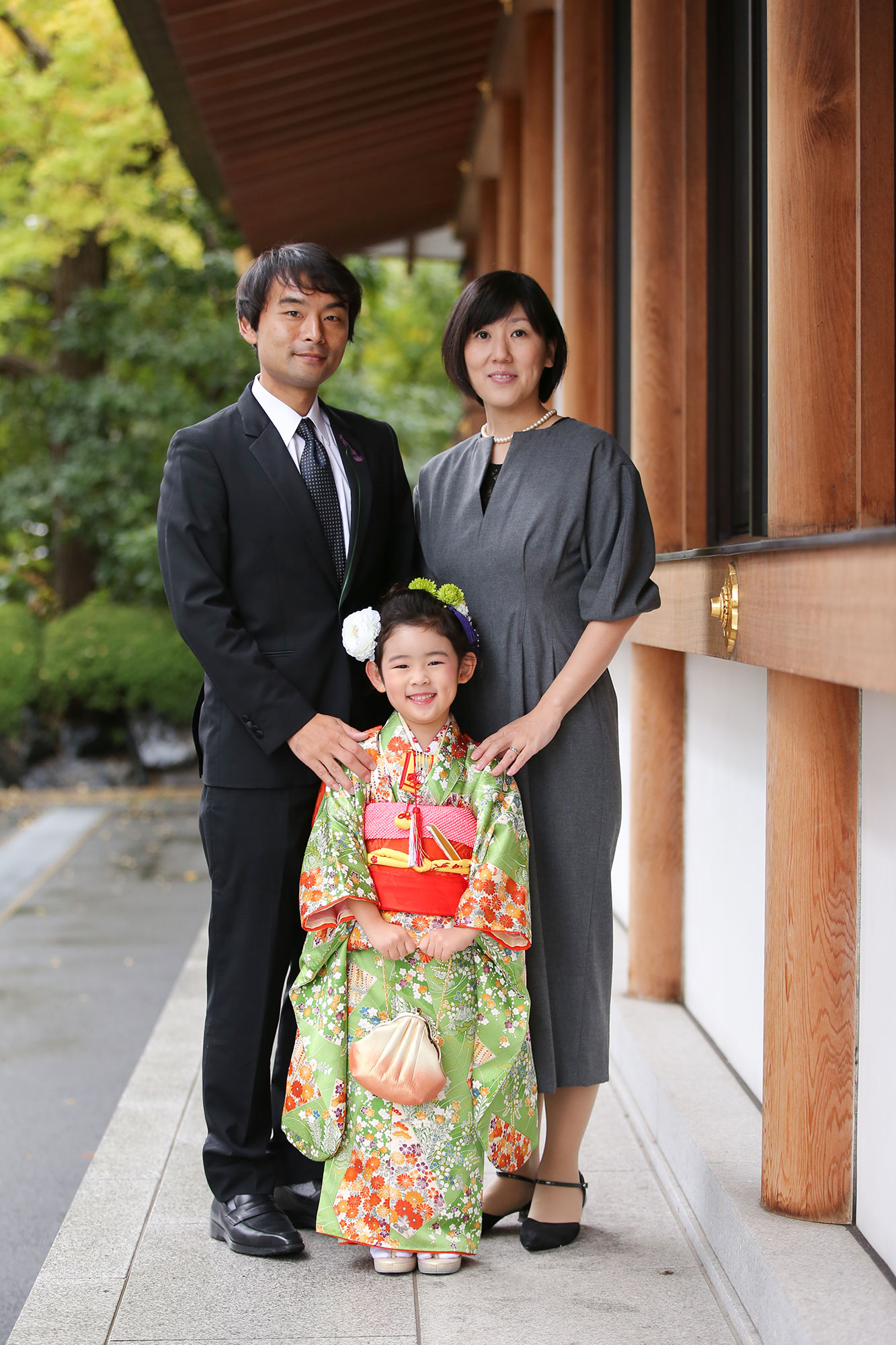 増上寺にて七五三の出張撮影7