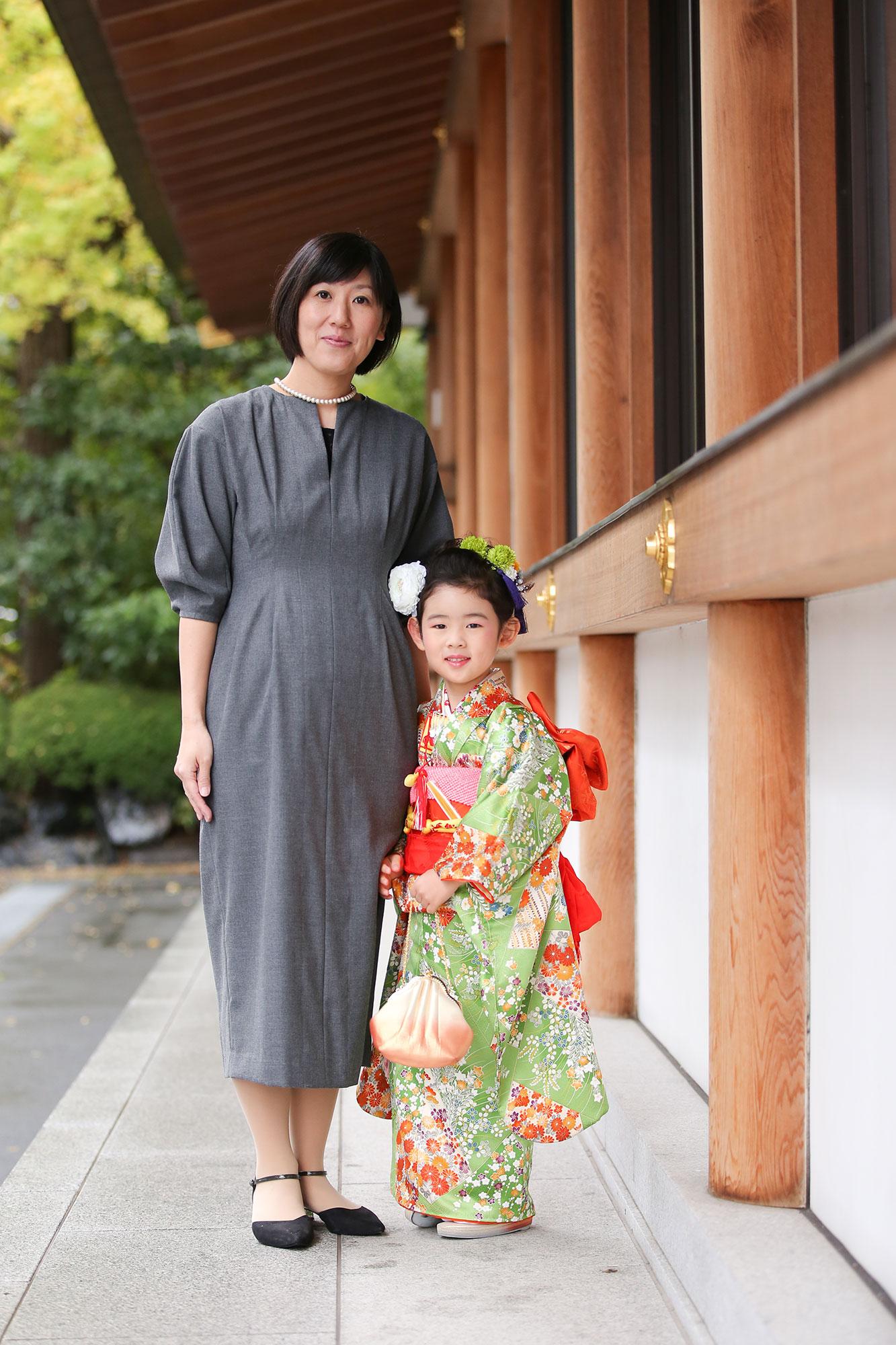 増上寺にて七五三の出張撮影3