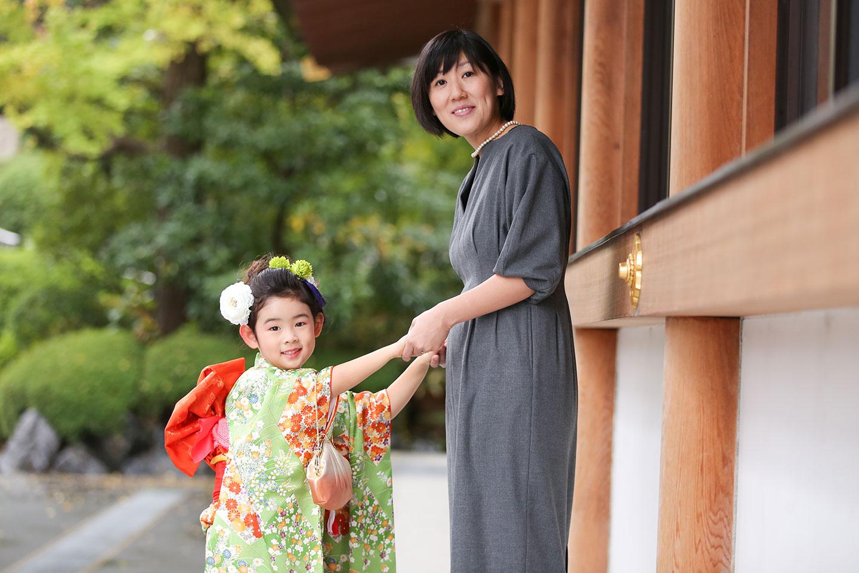 増上寺にて七五三の出張撮影4