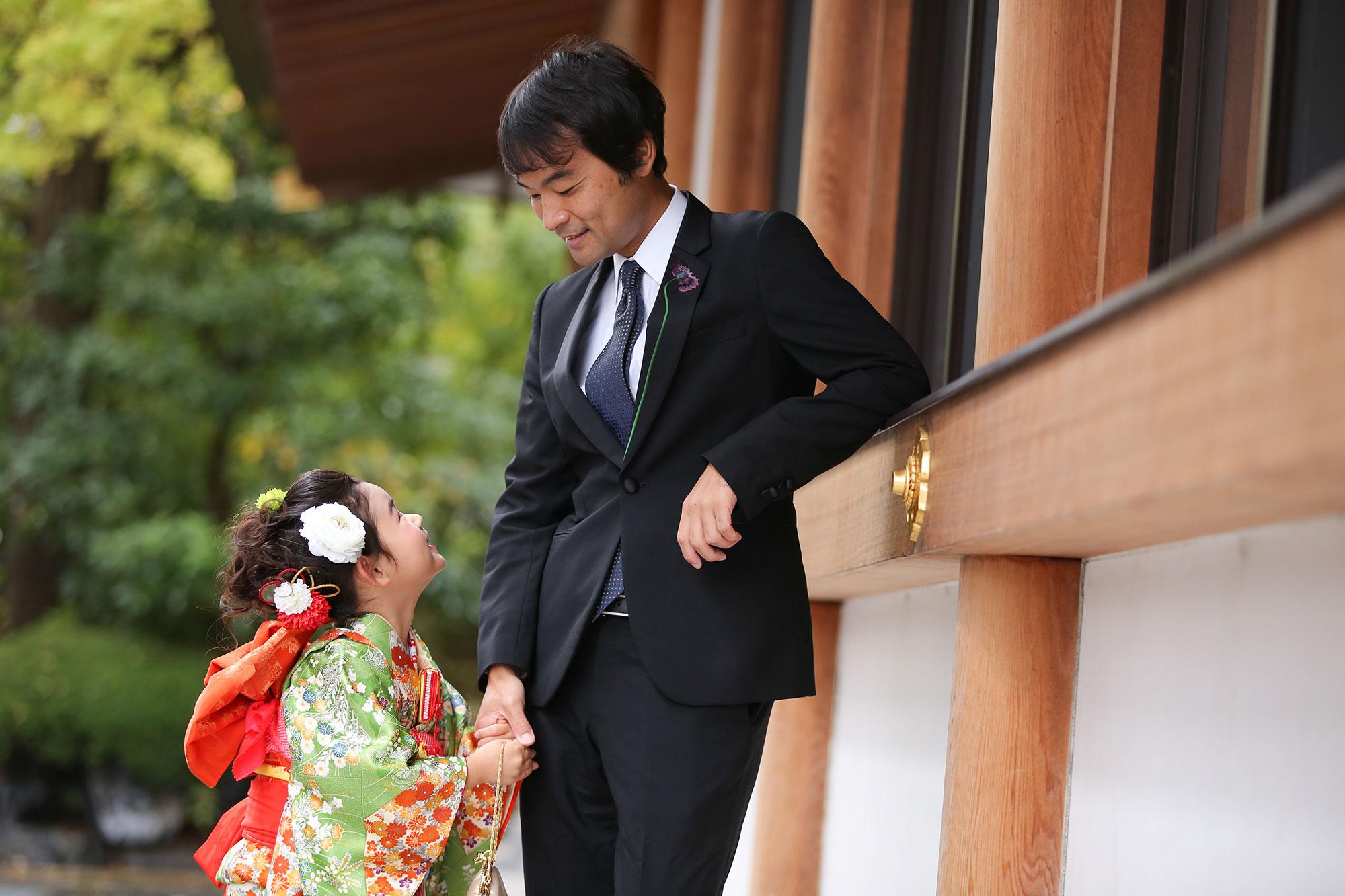増上寺にて七五三の出張撮影6