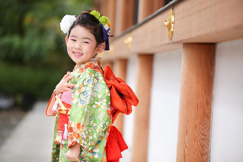 増上寺にて七五三の出張撮影8