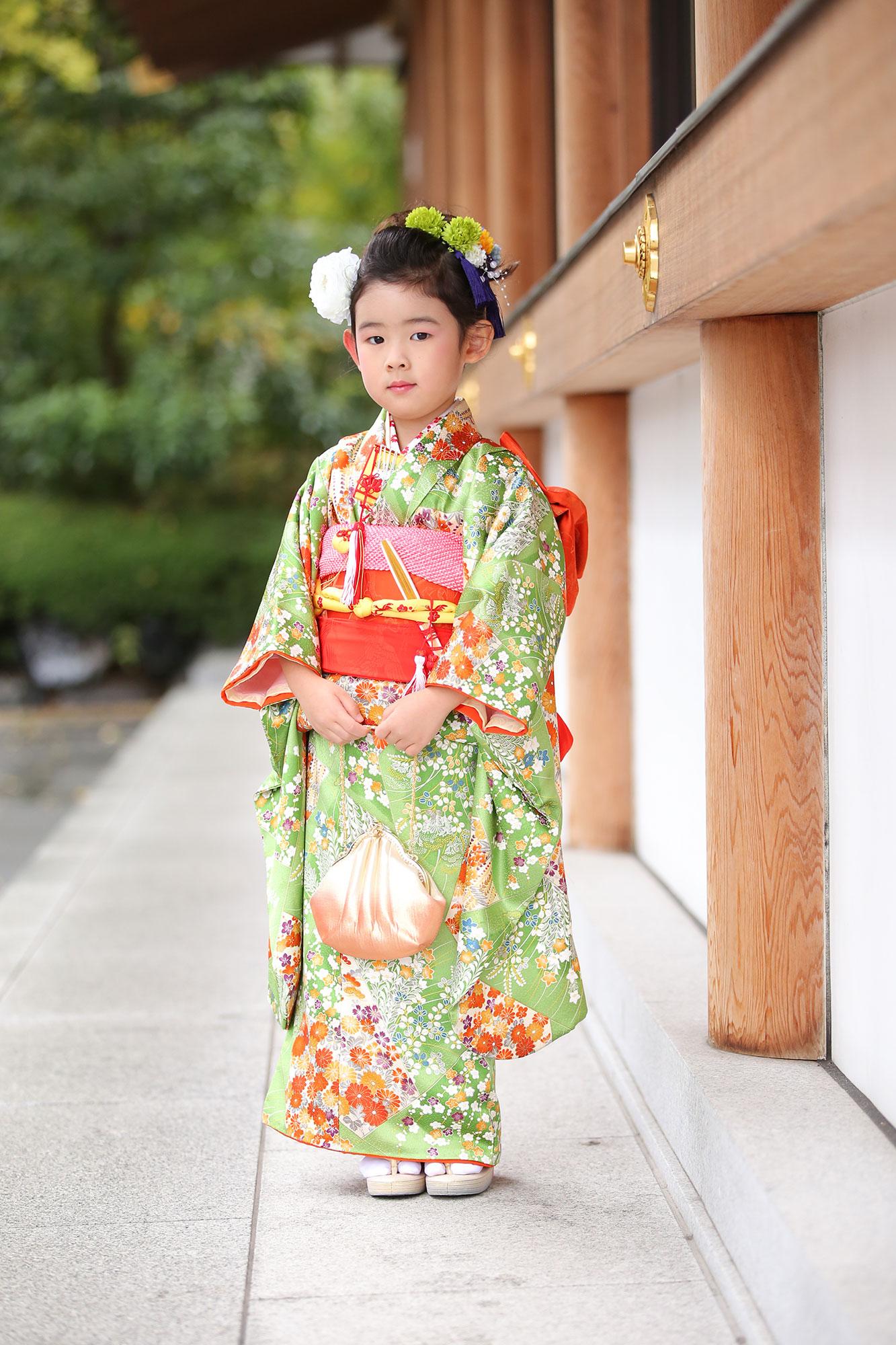 増上寺にて七五三の出張撮影9