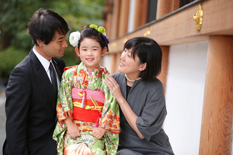 増上寺にて七五三の出張撮影10