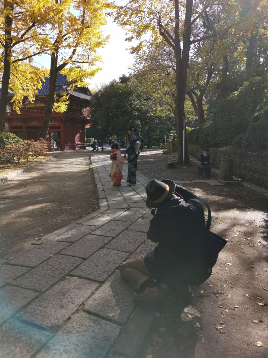 根津神社で七五三の出張撮影〜お客様の声〜