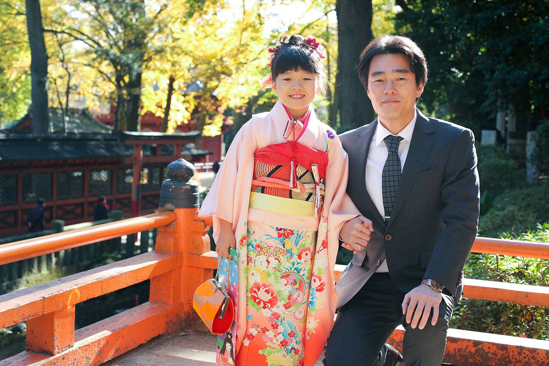 根津神社で七五三ブログ
